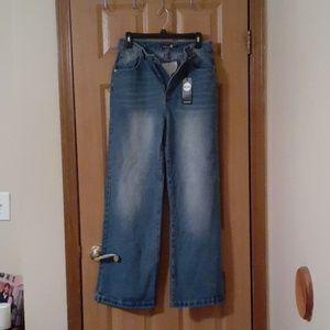 Brand new wide leg jeans